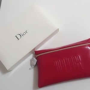 Dior Red Trousse Pouch
